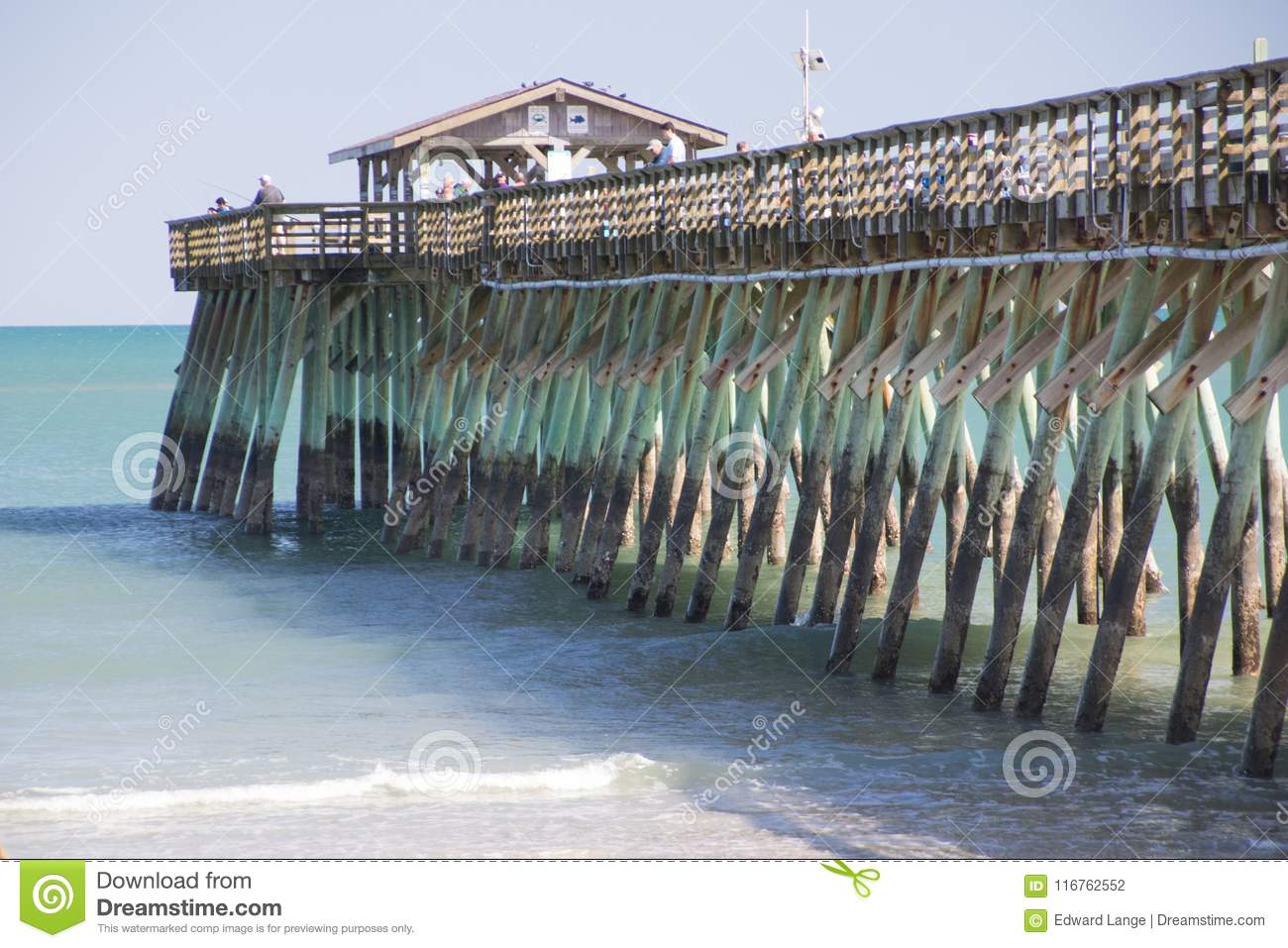 Myrtle Beach, Carolina State Park Fishing Pier del sud