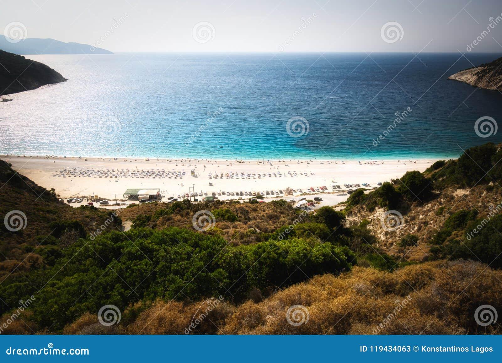 Myrtos, Kefalonia, Grecia