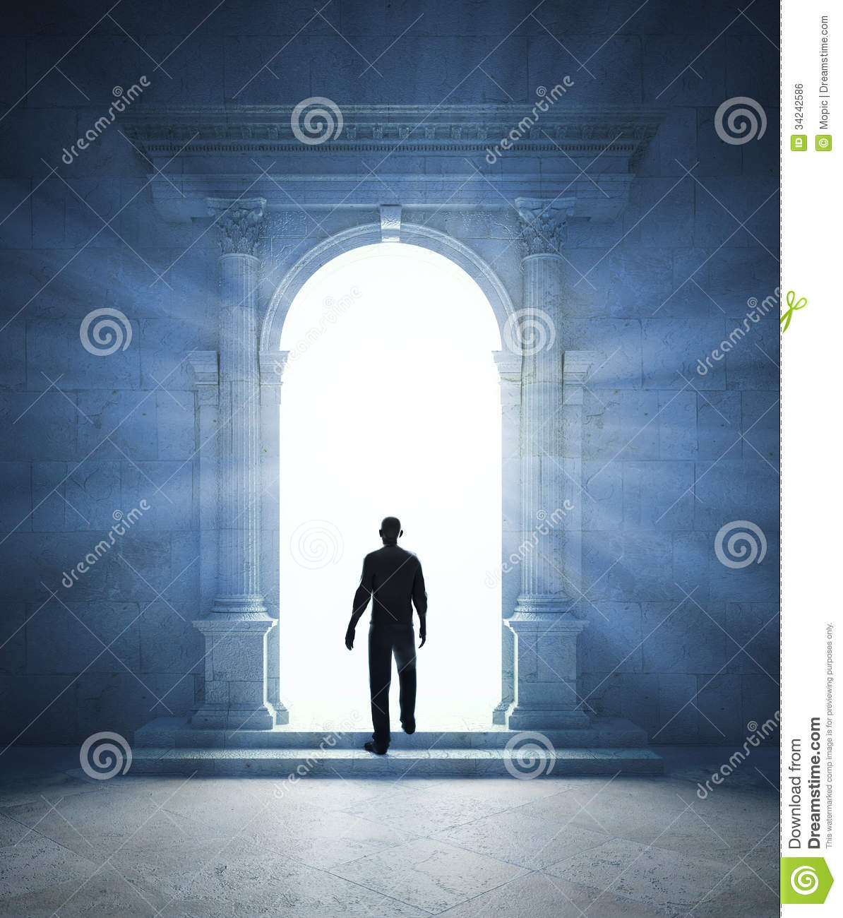 Mysterious Portal Royalty Free Stock Image - Image: 34242586