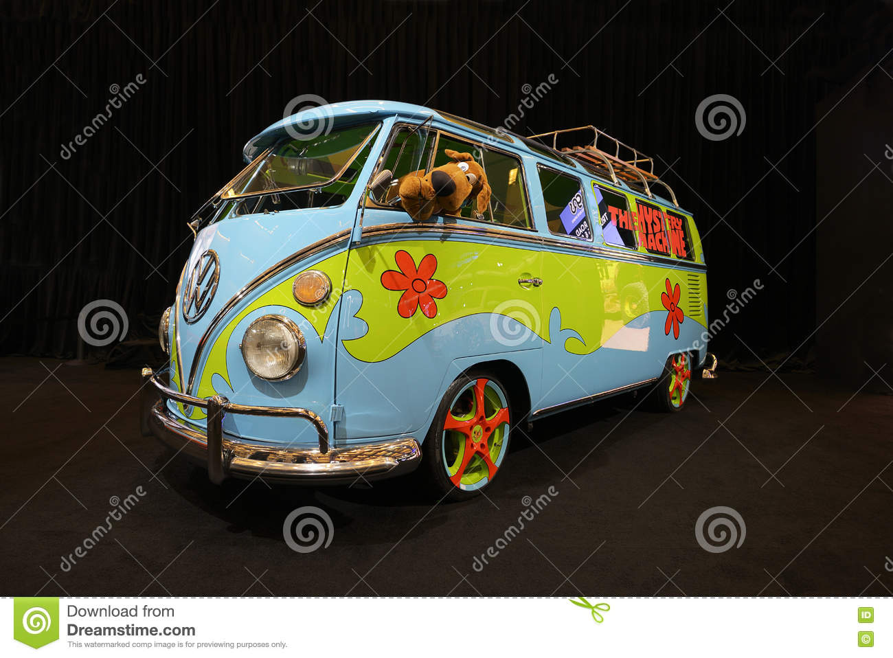 Mystery machine editorial stock photo image 81196228 for Dream motors los angeles
