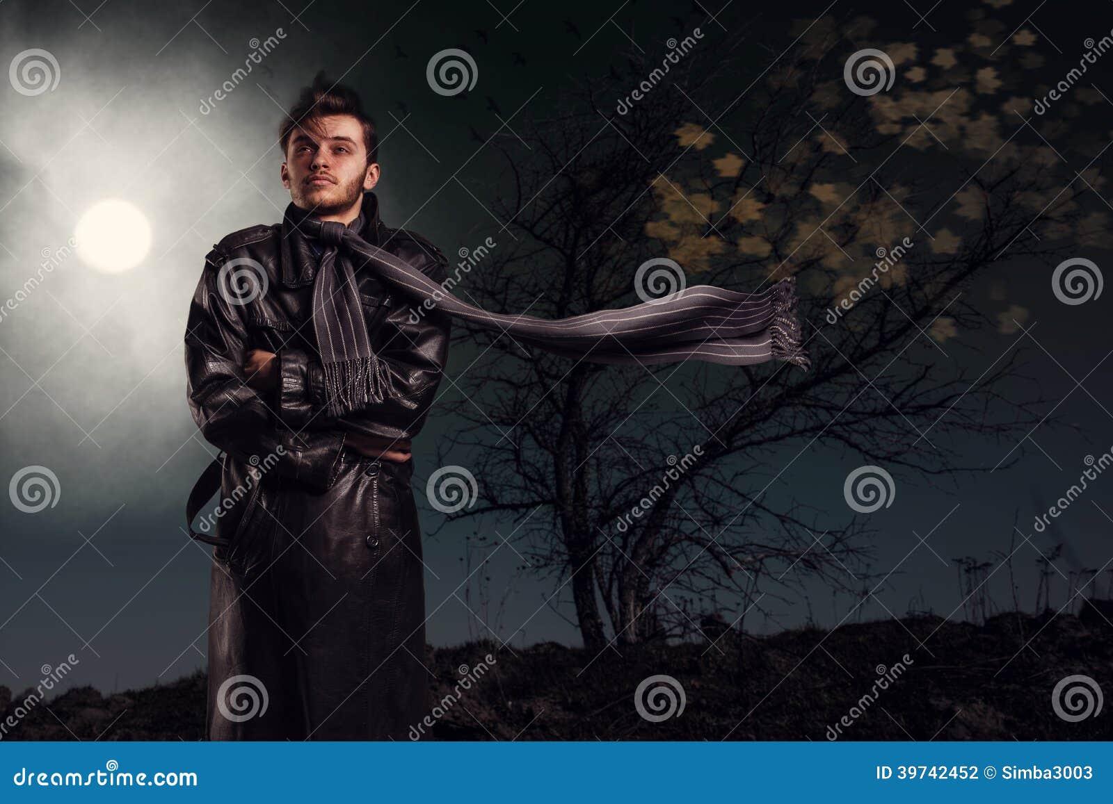 No fear leather jacket