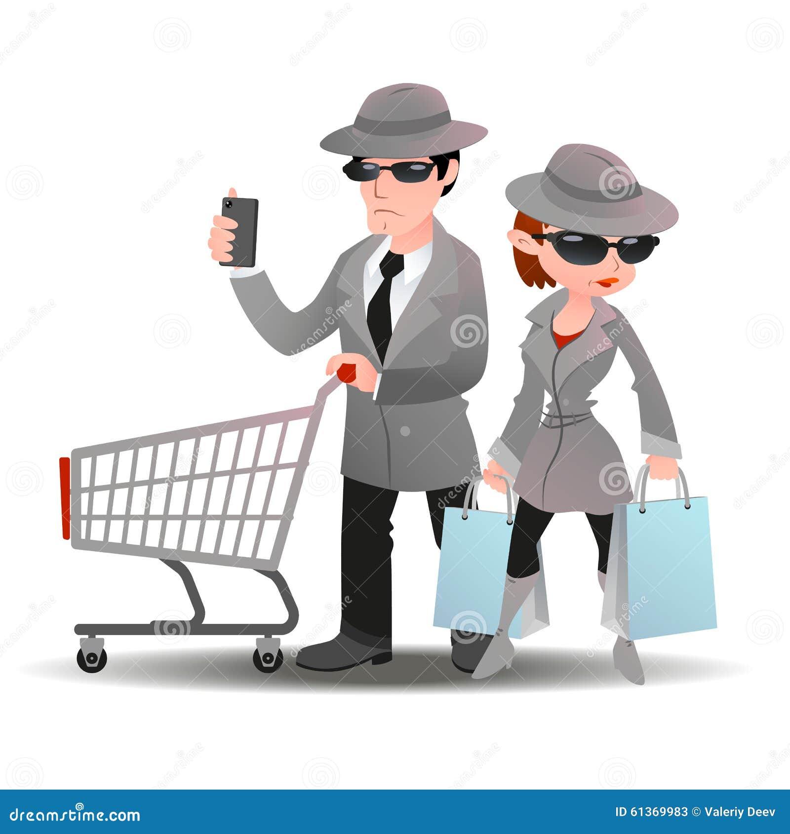 Rain Coat Clip Art Mystery Shopper Man Wi...