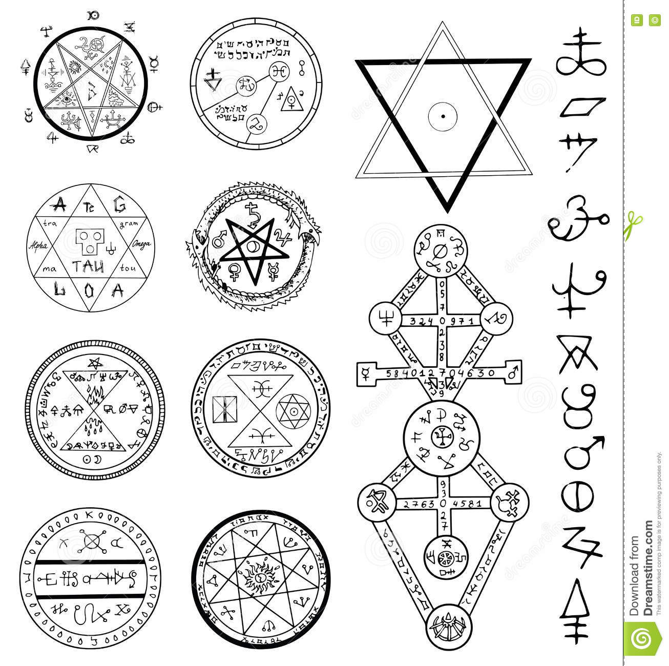 Mystic symbols images galleries with - Simbolos con significado ...
