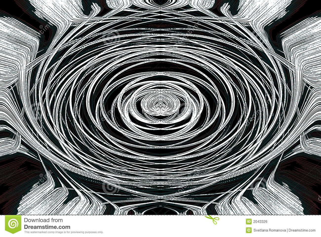 Mystical Art Abstract Graphic Wallpaper Royalty Free Stock