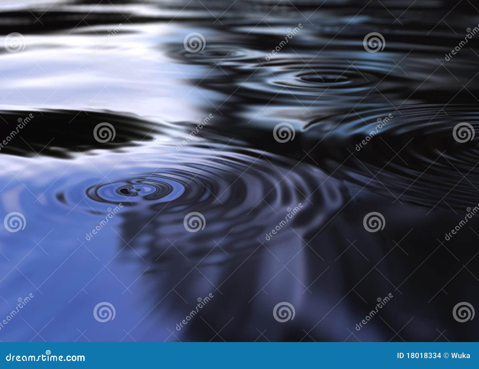 Mysticen ripples vatten