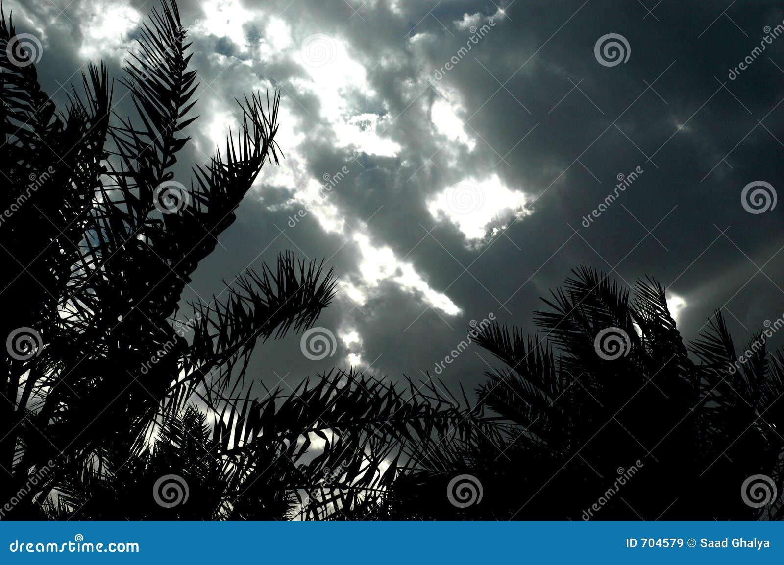 Mystirious небо