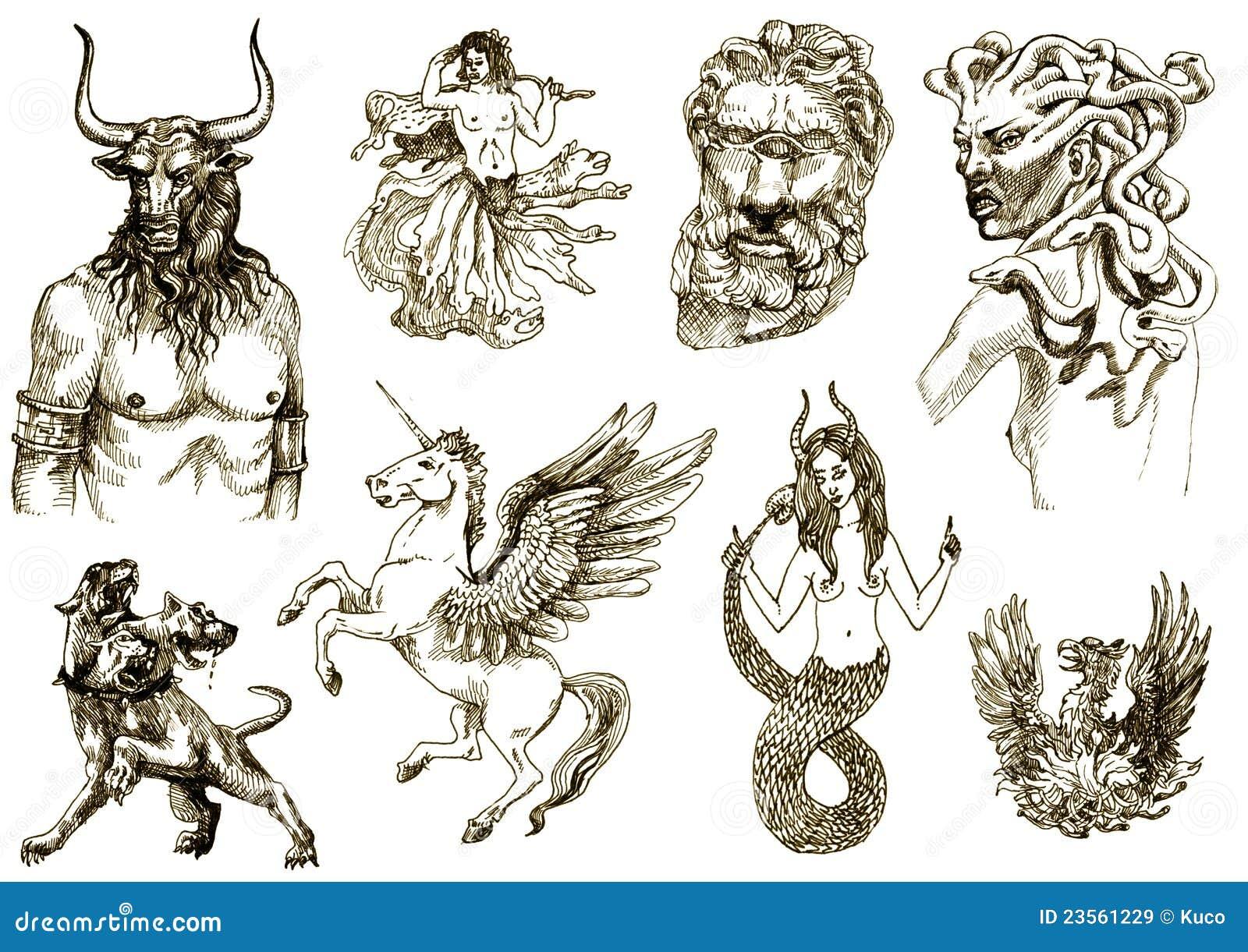 Mystische Geschöpfe II