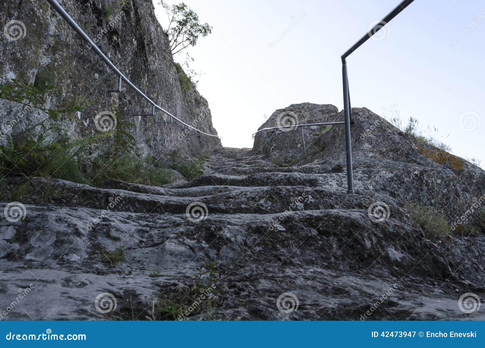 Mystische Treppe zum Himmel