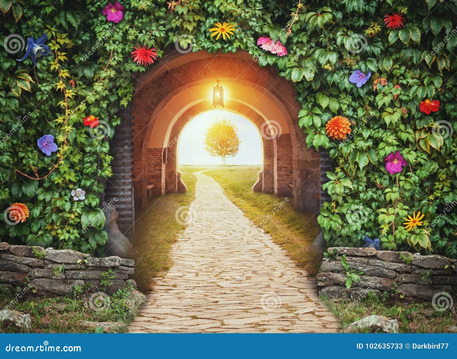 Mystisk portingång i paradis ny begreppslivstid