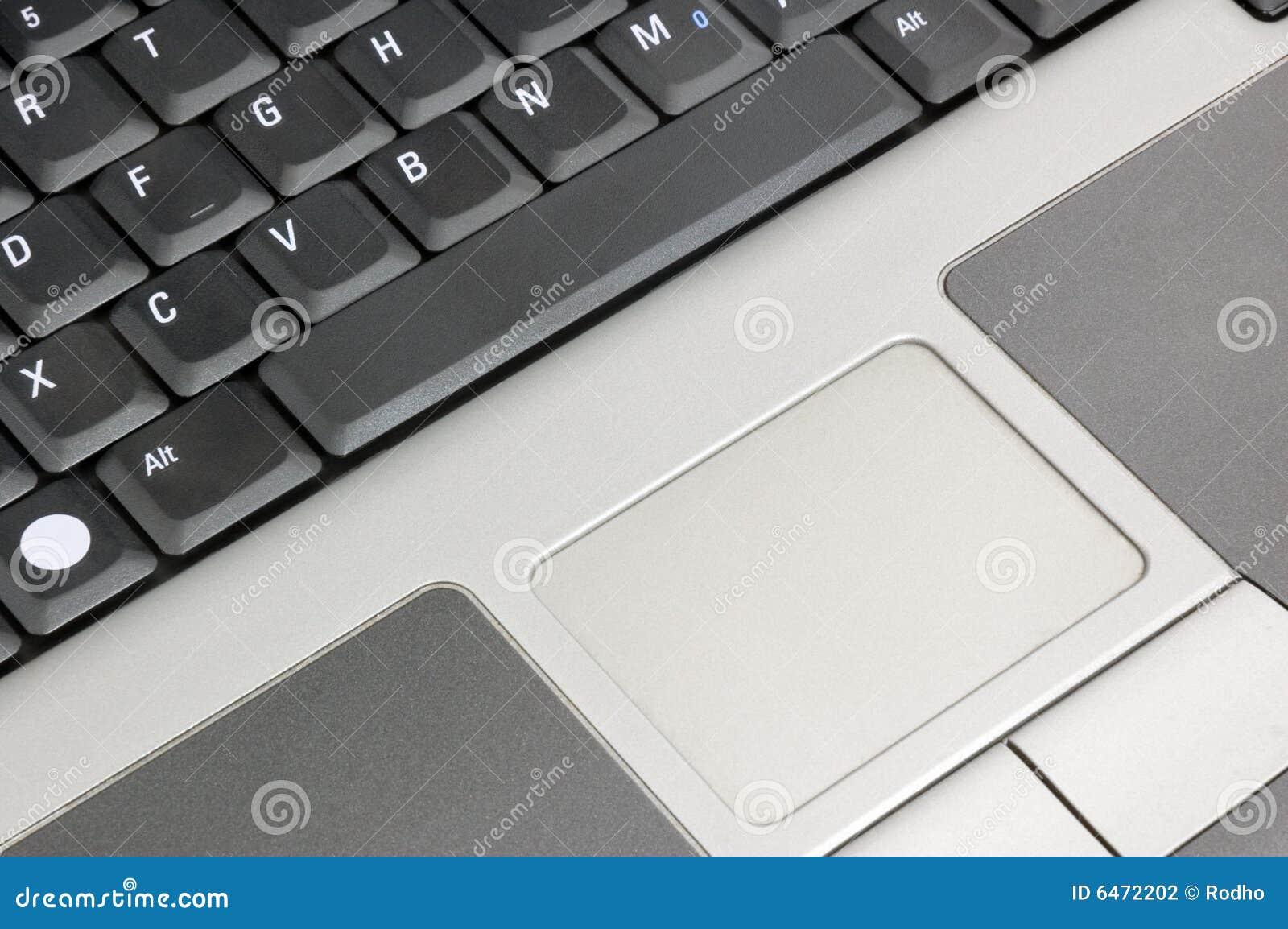 Mysz klawiaturowy dotykania