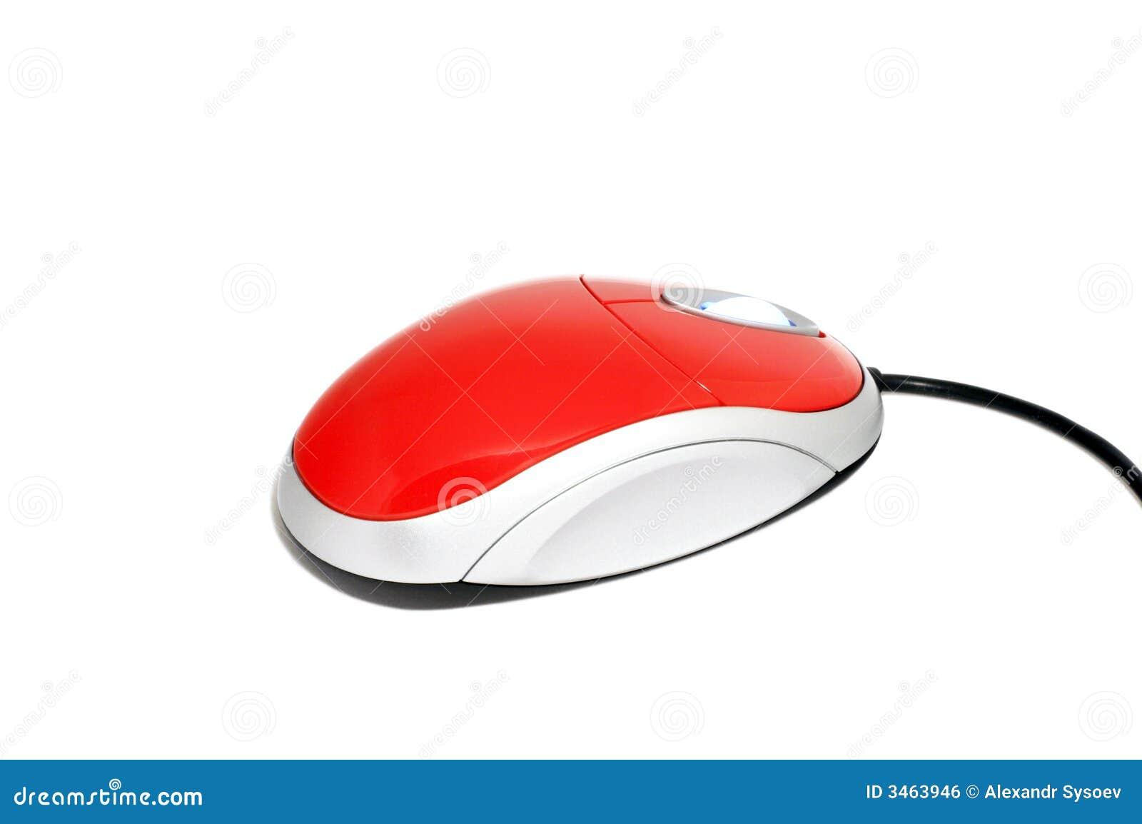 Mysz komputerowy white