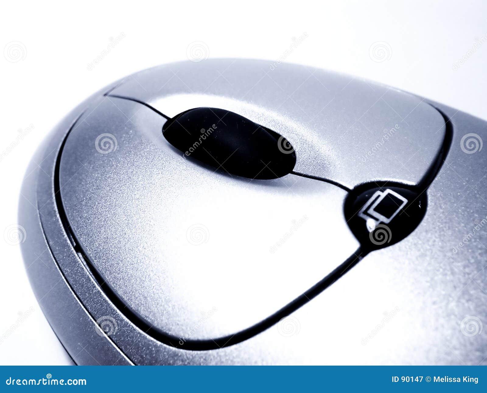 Mysz zbliżenie komputera