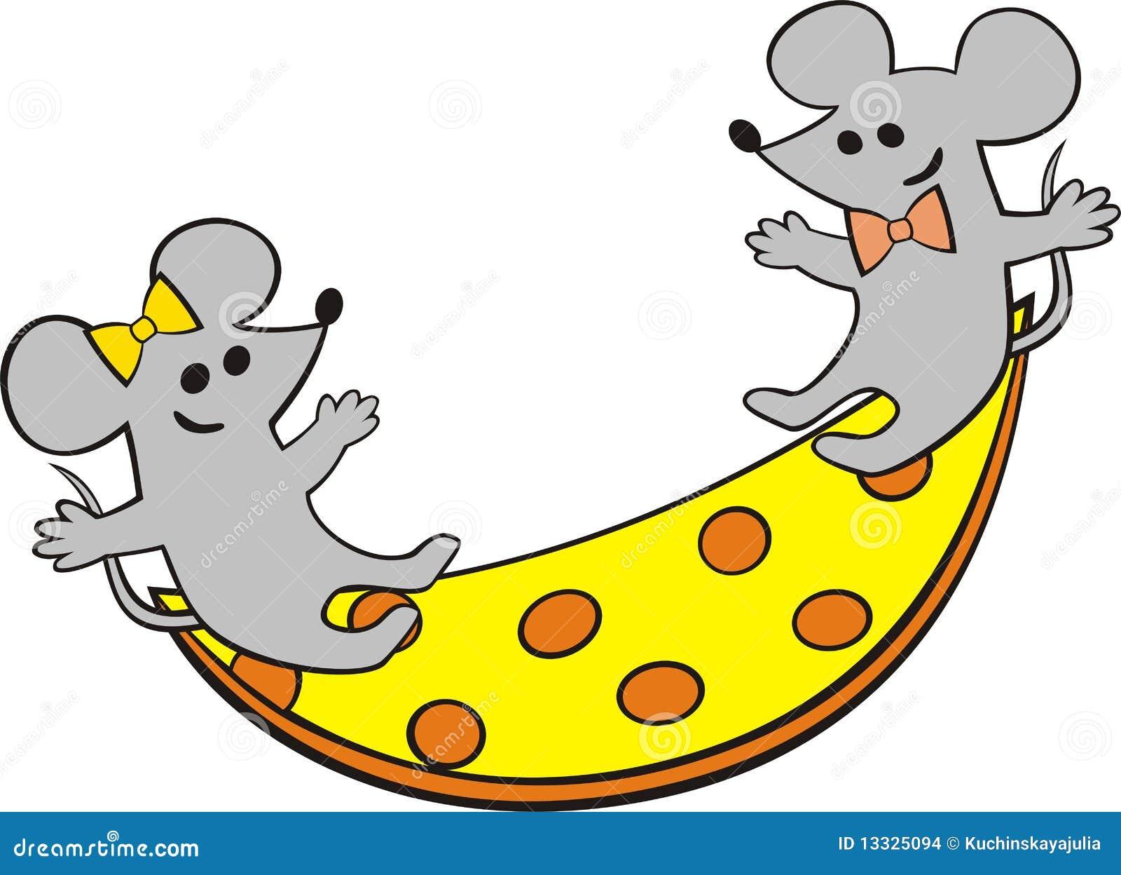 Myszy bawić się