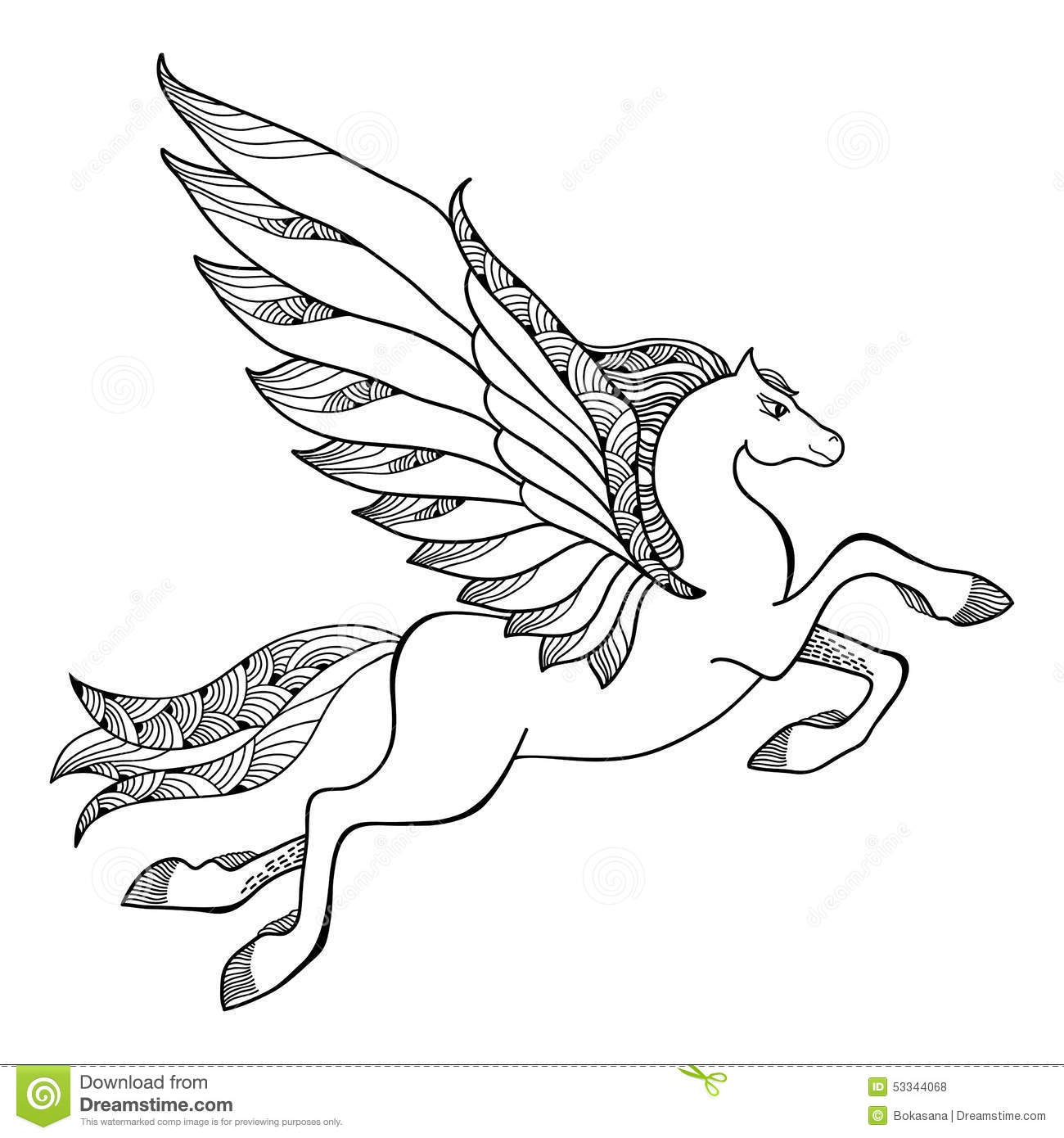 Mythological Pegasus The Series Of Creatures