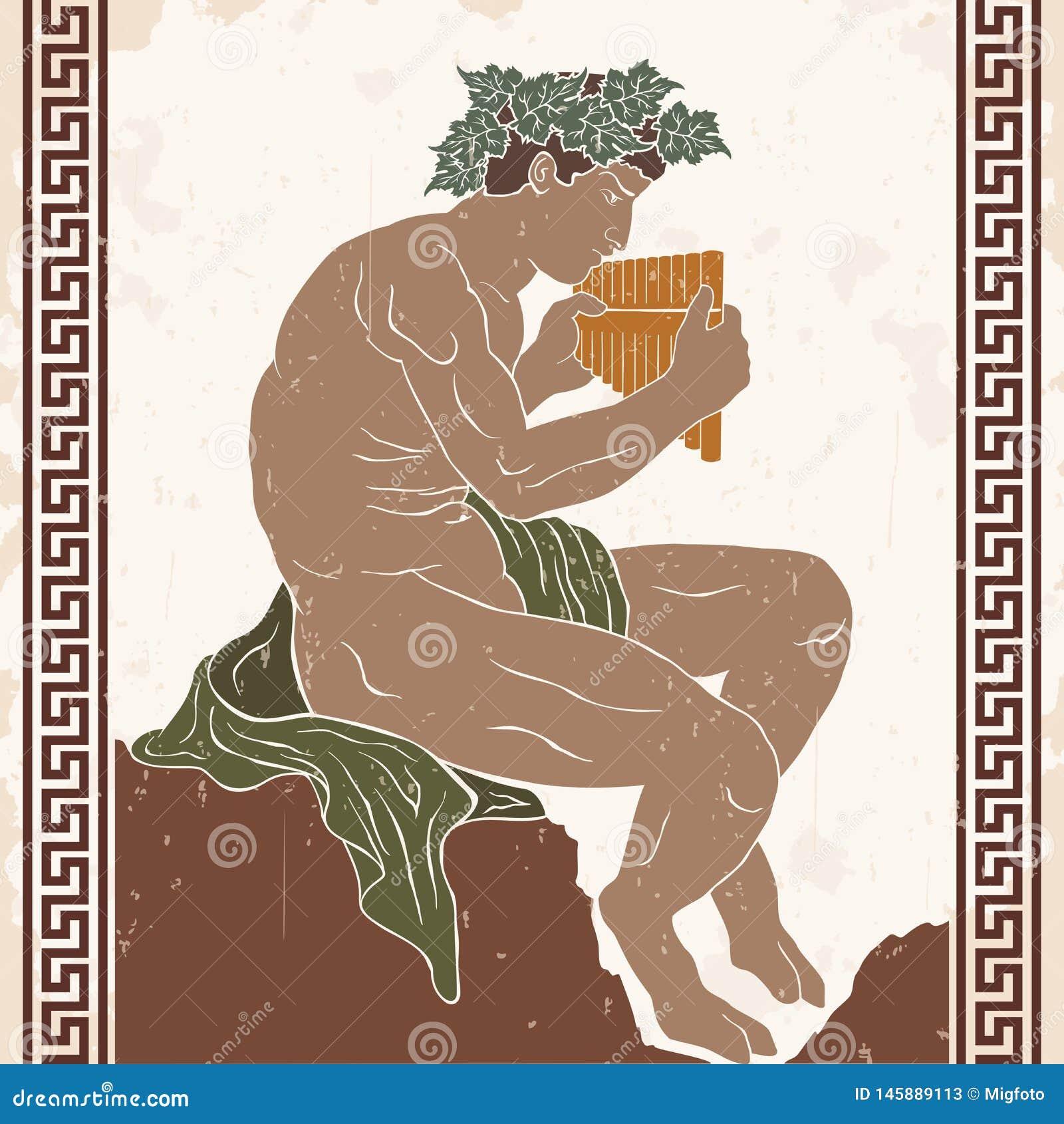 Mythologisches Geschöpf Satir