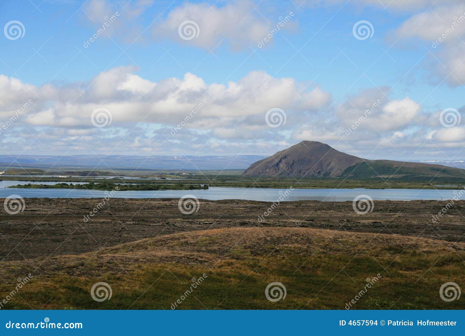 Myvatn Исландии зоны