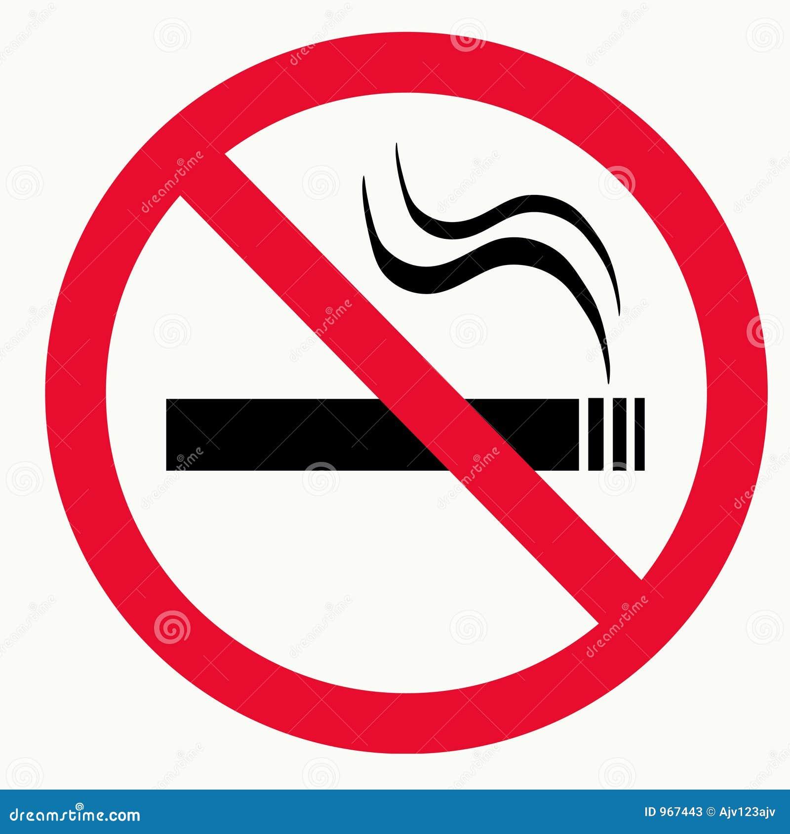 Não fumadores