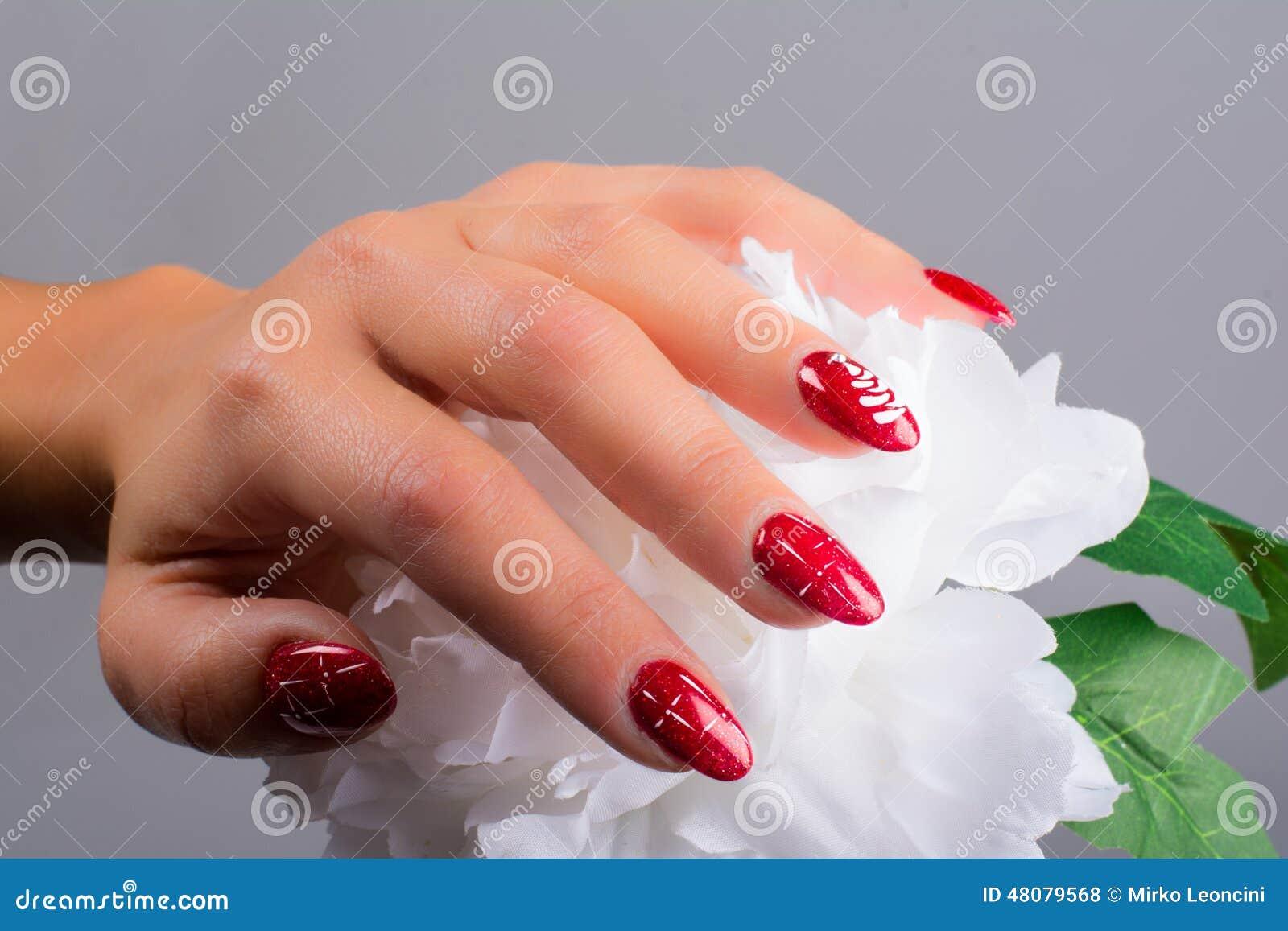 Nägel und Weihnachten
