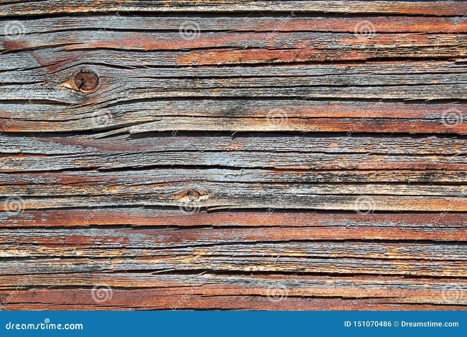 Närbild av en träyttersida