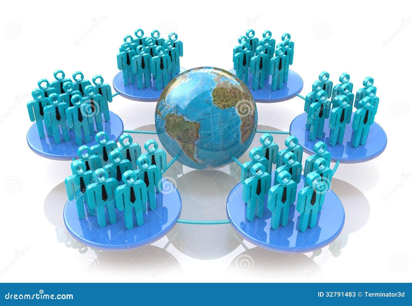 Nätverk av sociala grupper