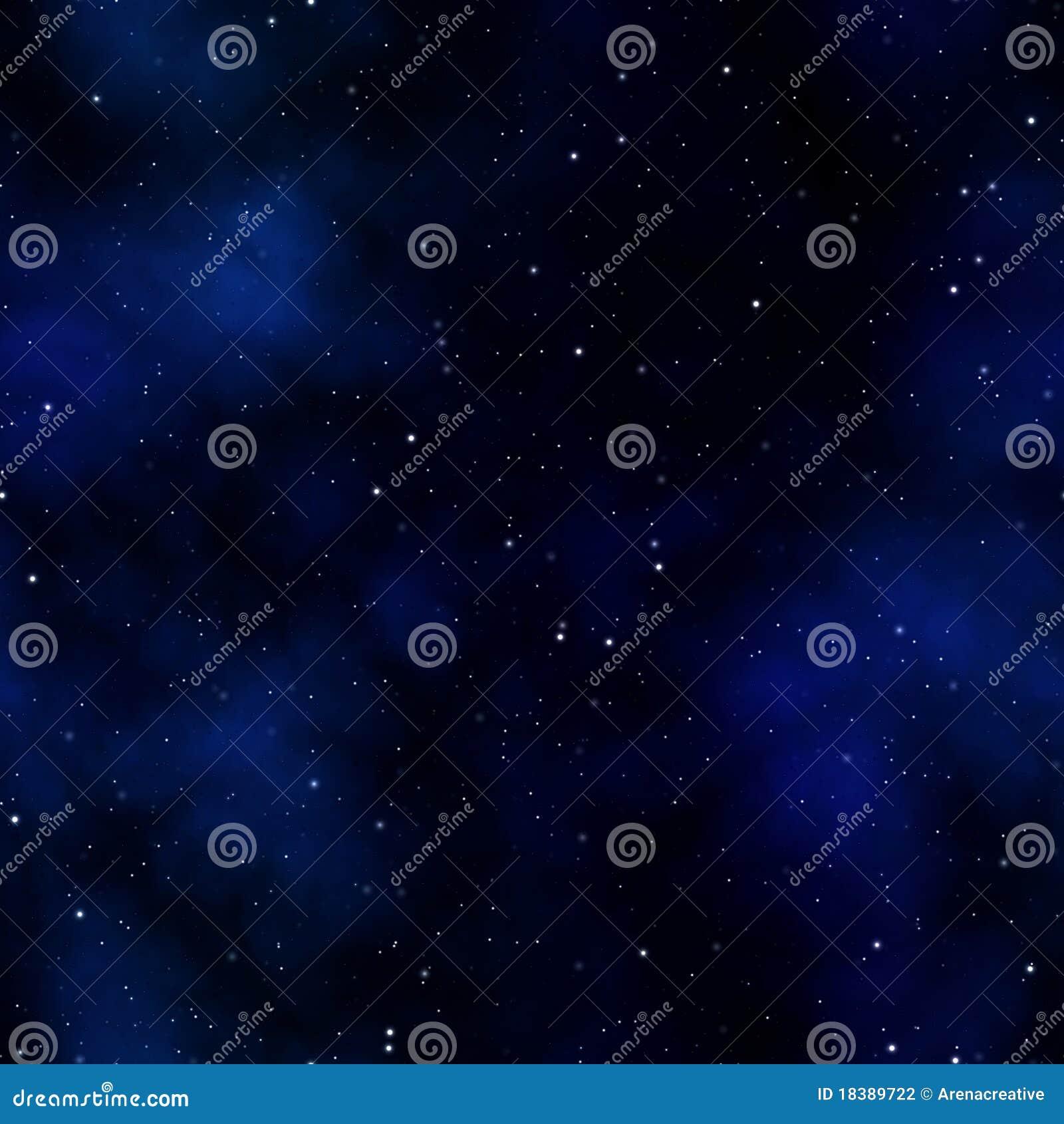 Nébuleuse étoilée de l espace