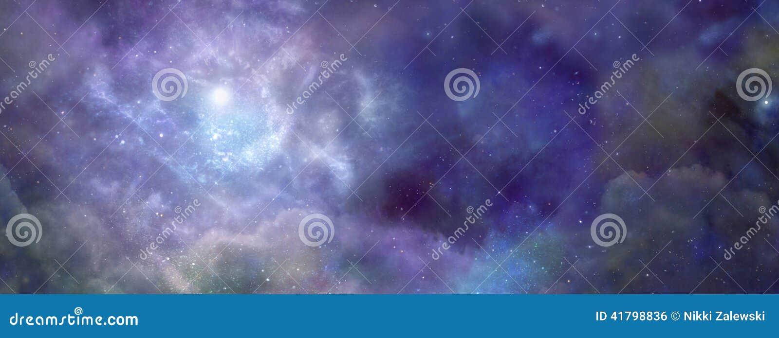 Nébuleuse dans l espace extra-atmosphérique