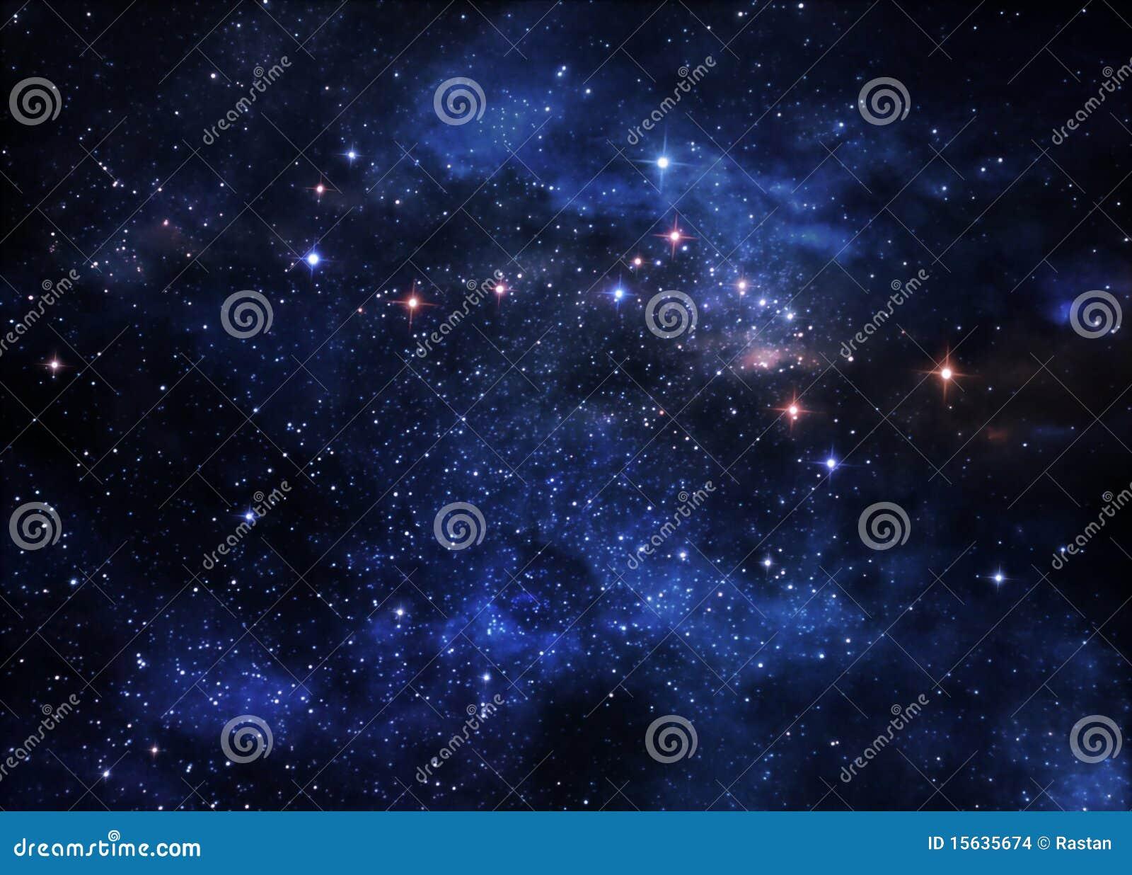 Nébuleuses d espace lointain