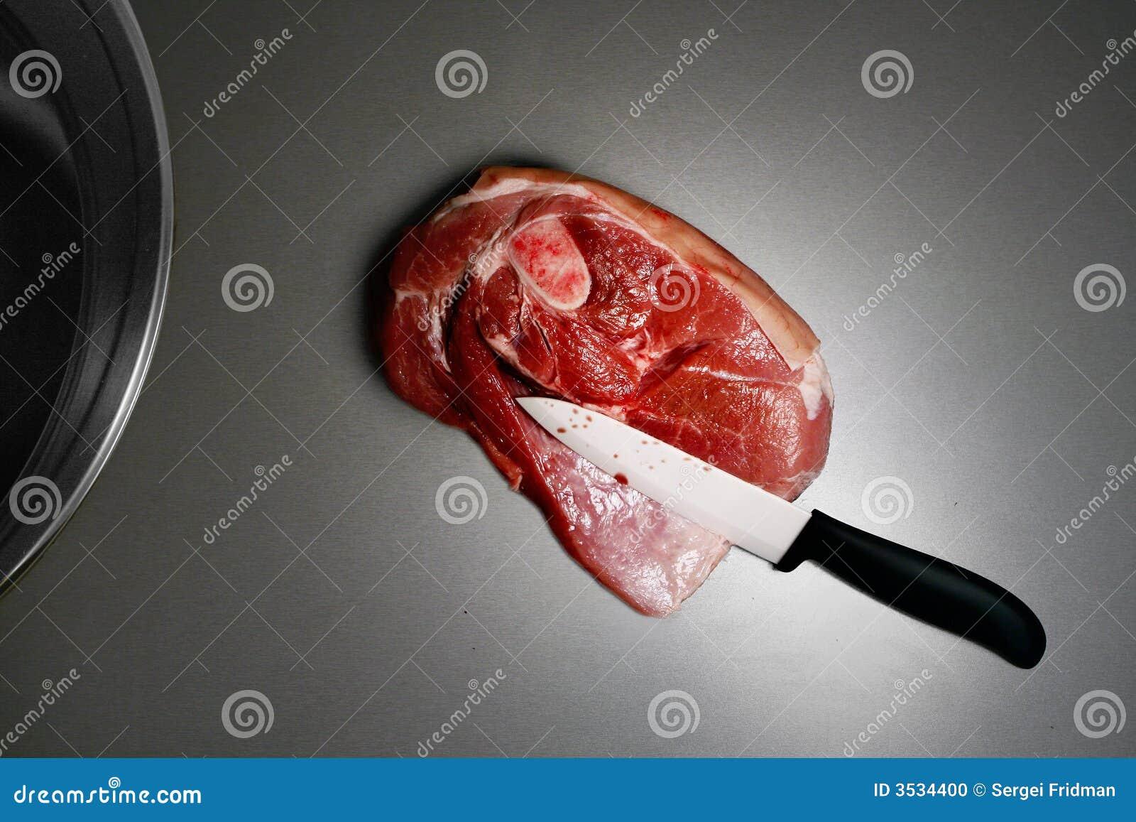 Nóż ceramiczny mięsa