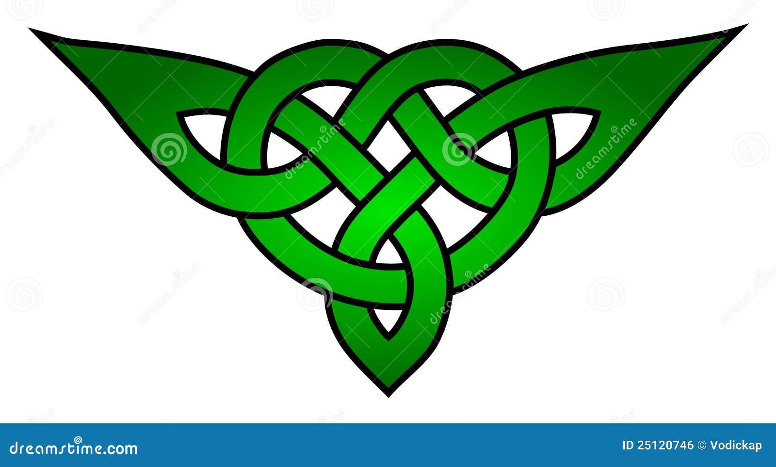 Nó celta do triquetra