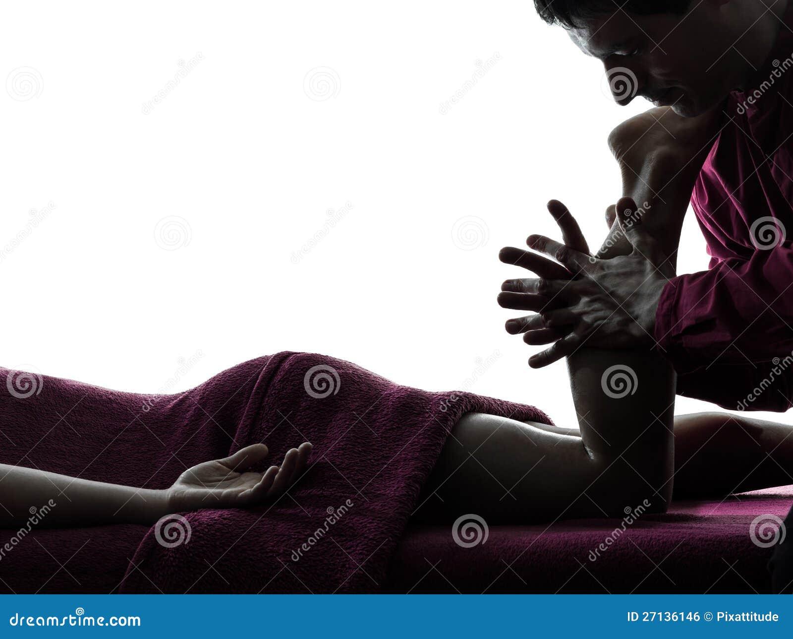 Nóg masażu terapia
