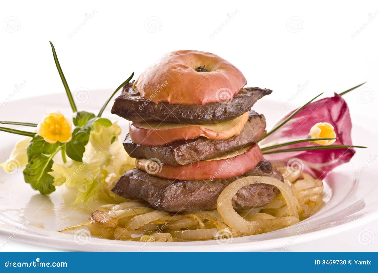 Nötkött stekt lever