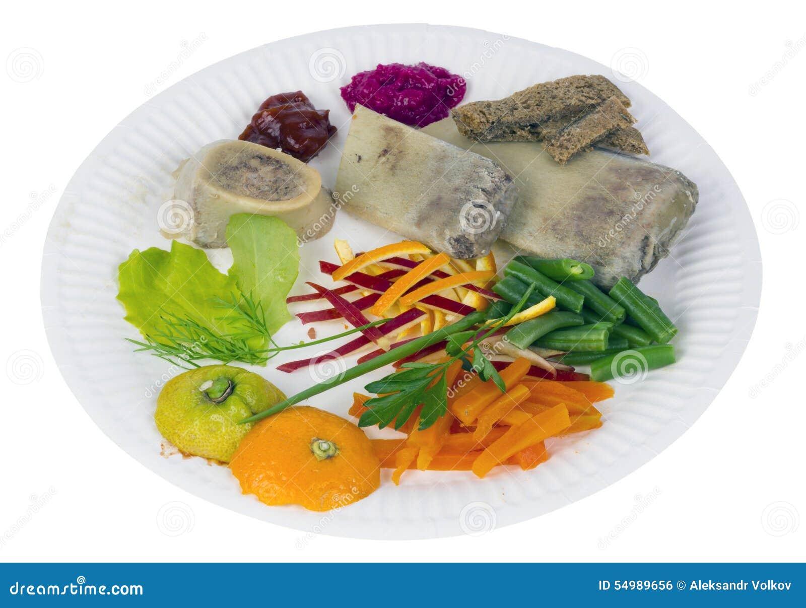 Nötköttben med grönsaker