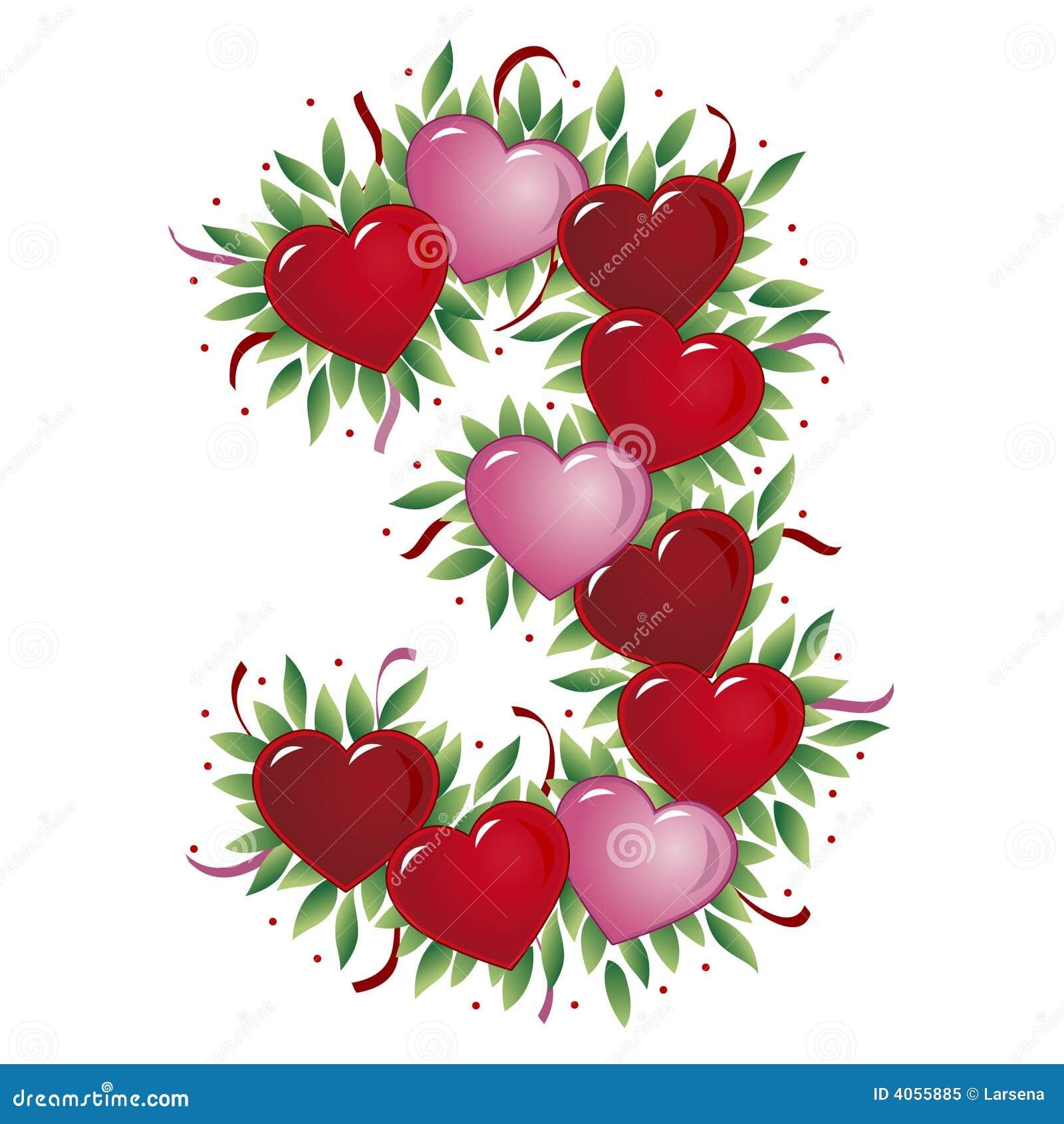 Número 3 - Coração do Valentim