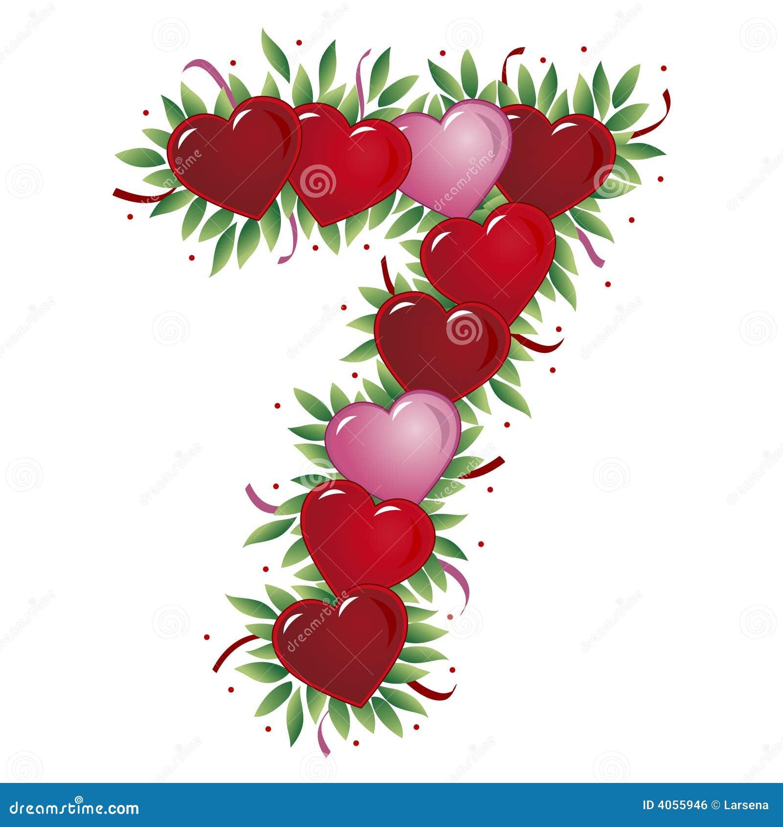 Número 7 - Coração do Valentim