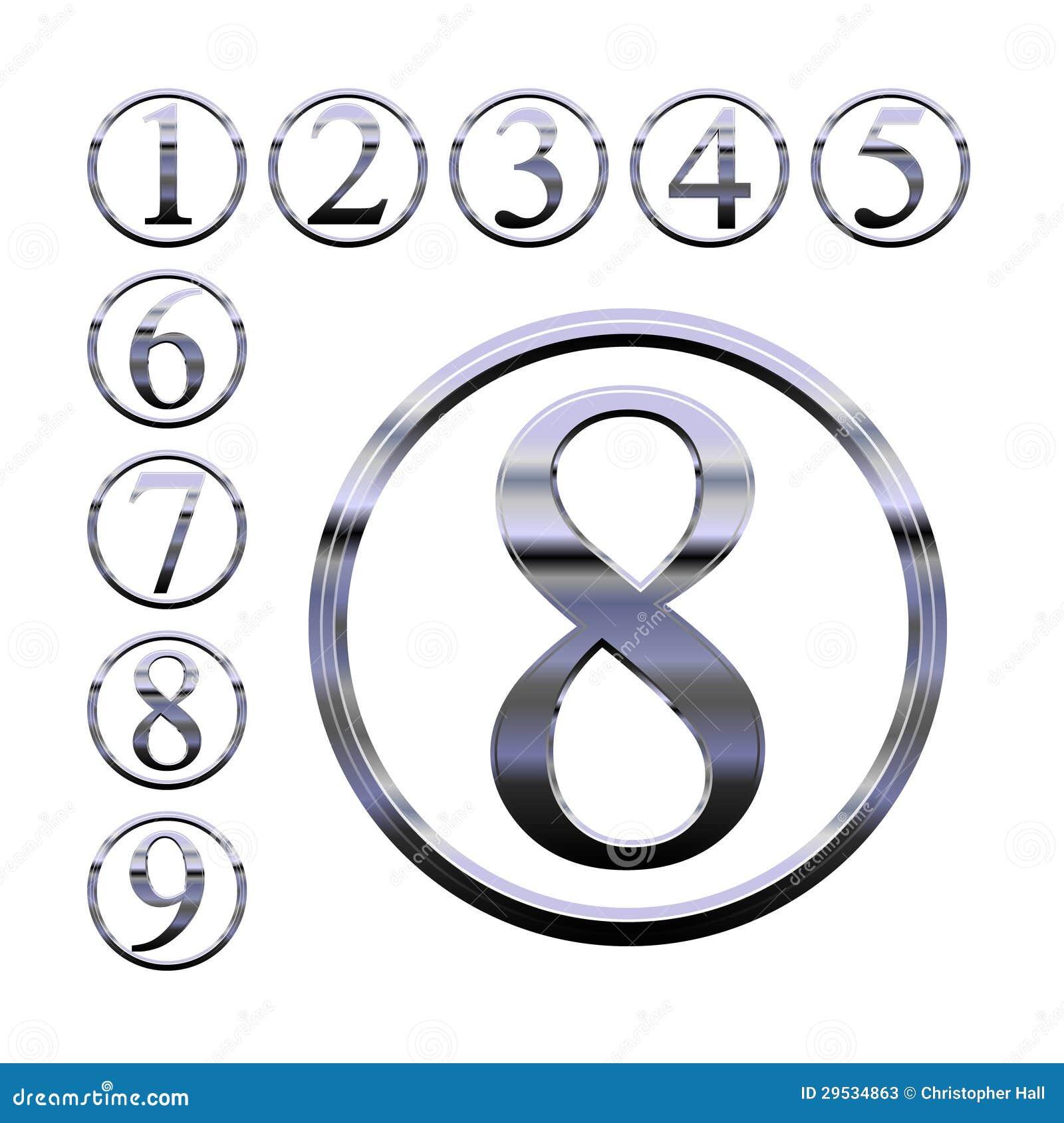 Números de prata