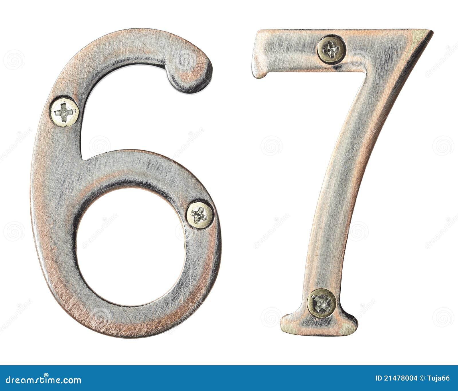 Números del metal