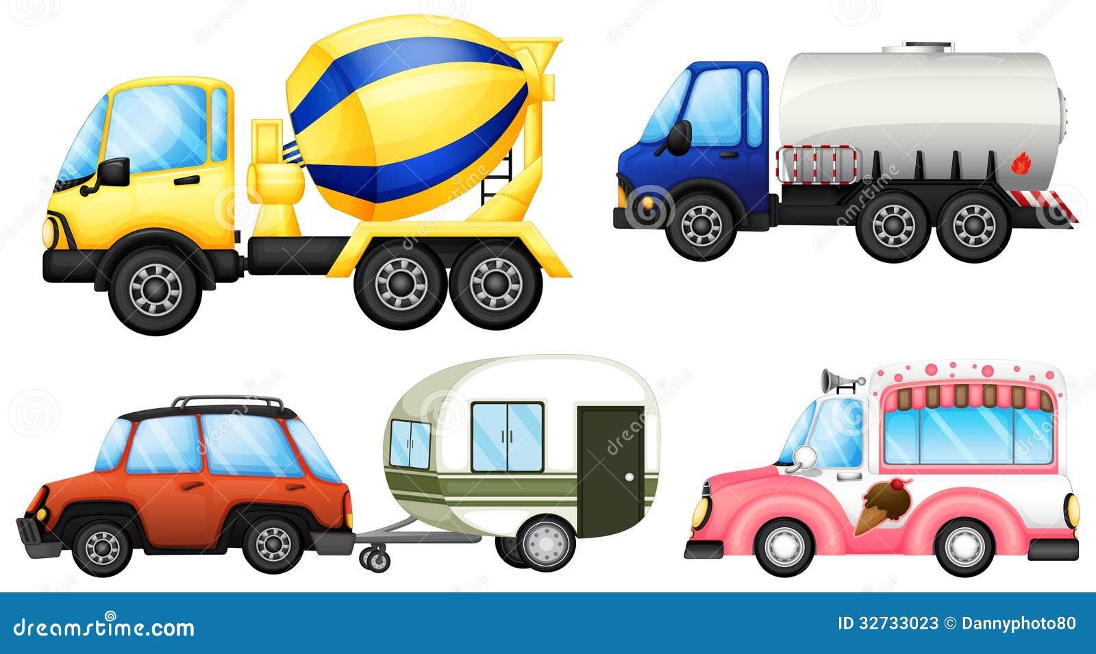 Nützliche Fahrzeuge