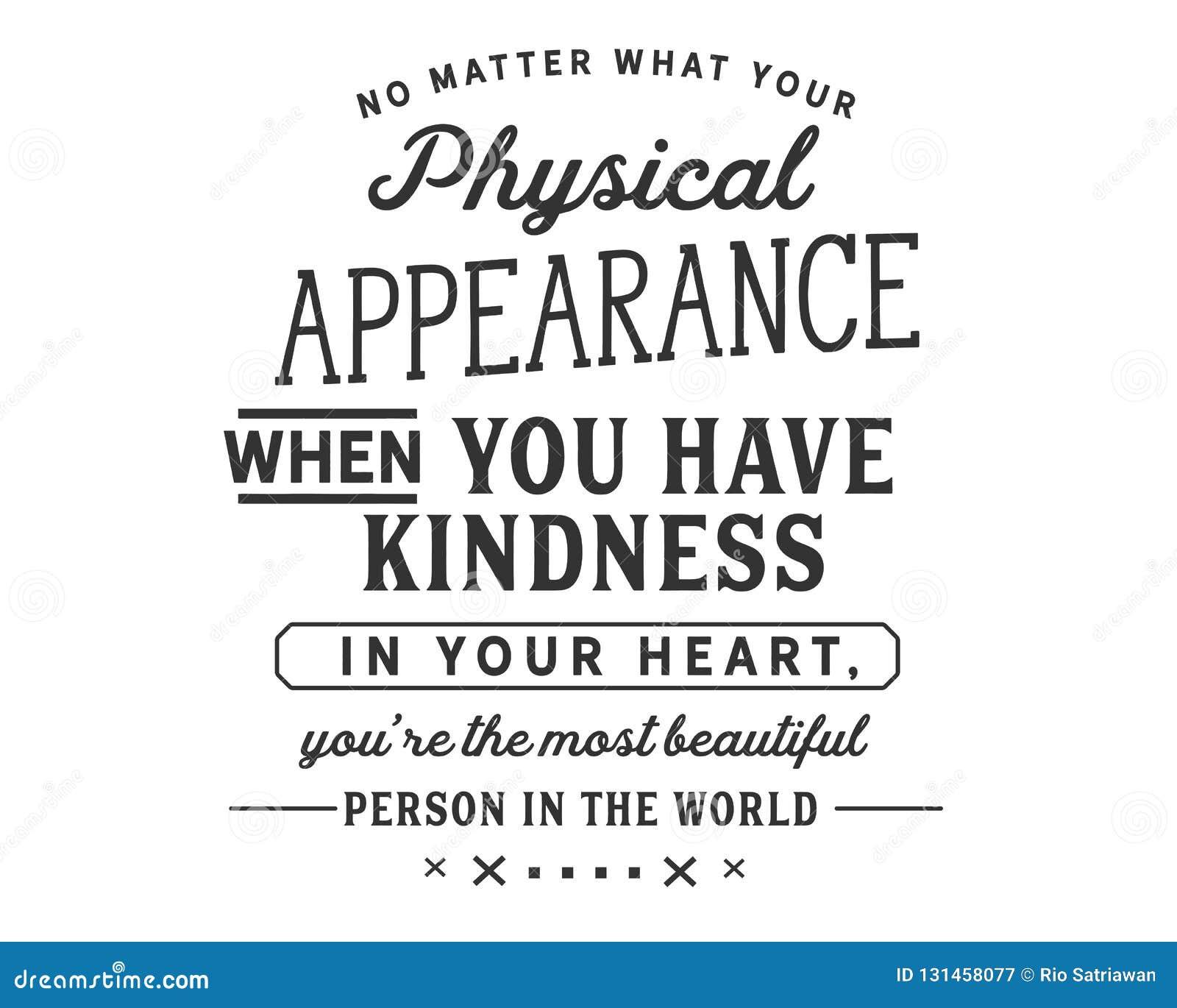 N Importe Ce Que Votre Aspect Physique Quand Vous Avez La
