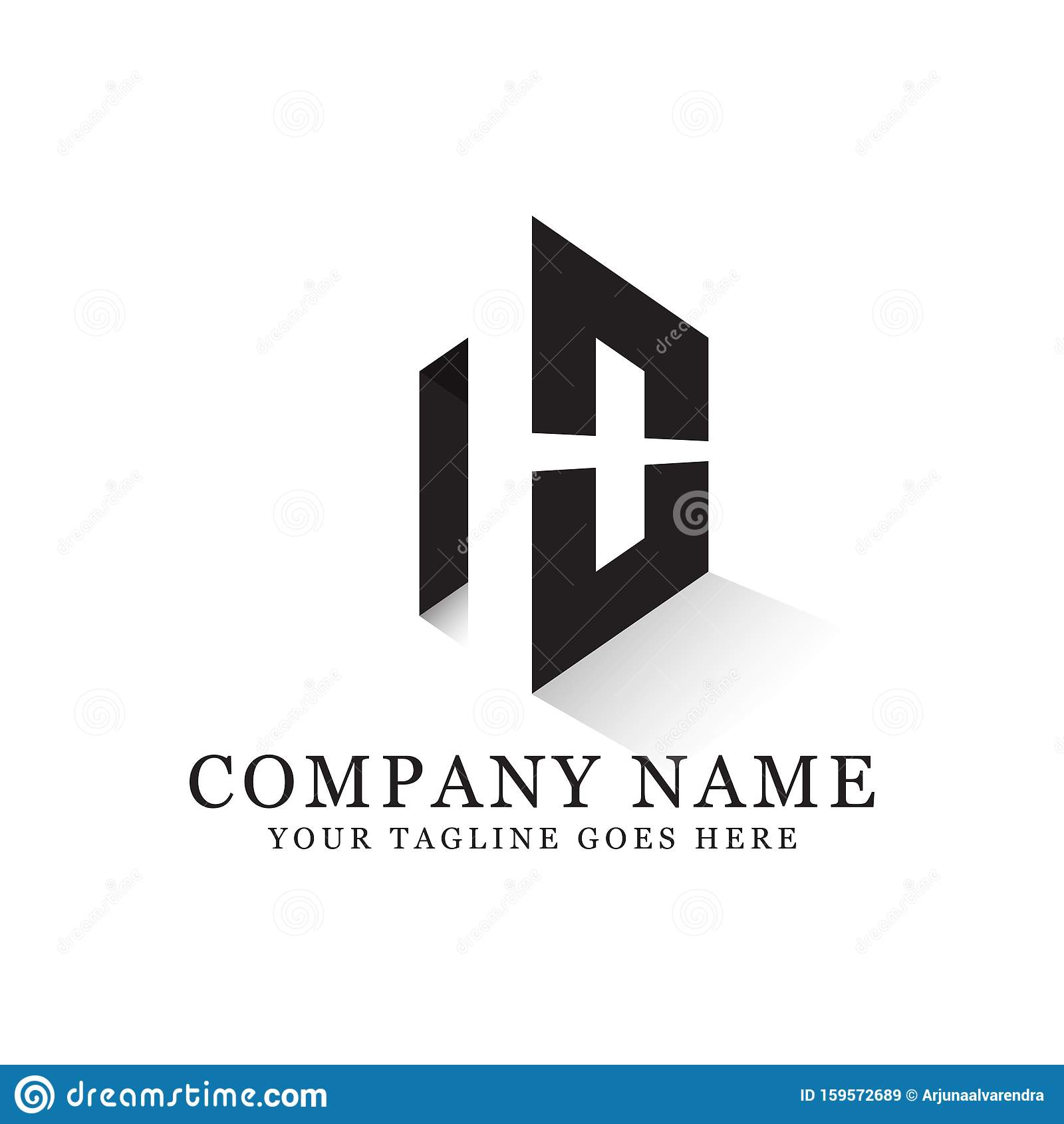 N O Negative Space Logo Designs Creative Logo Inspiration Stock