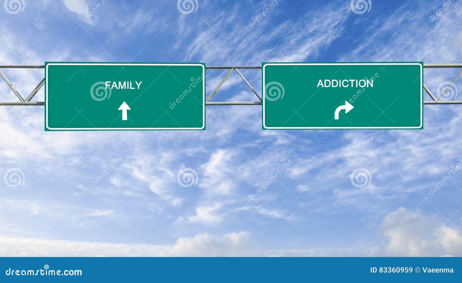 Nałóg i rodzina