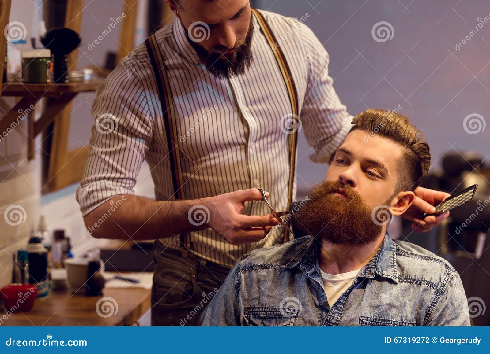 Na barbearia