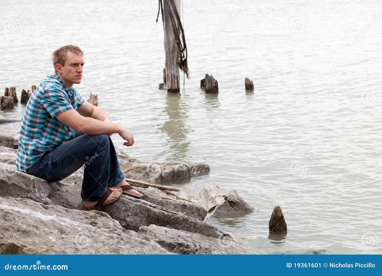 Na borda da água