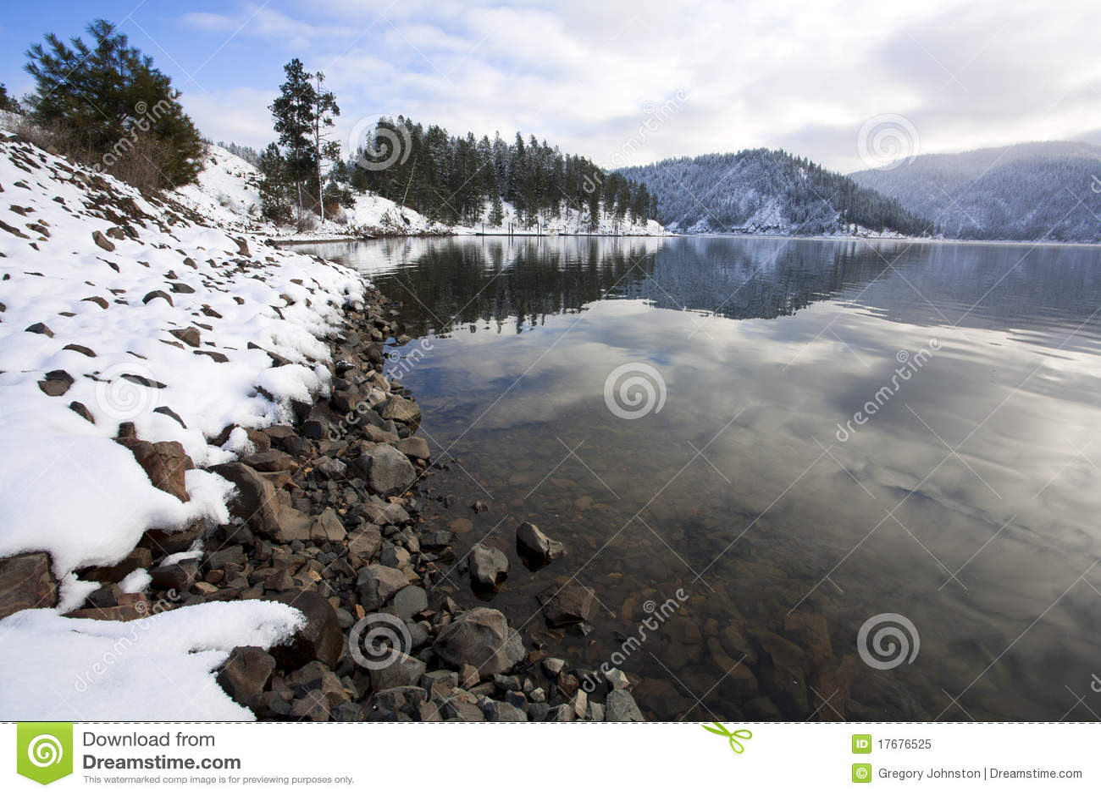 Na Coeur Jeziornym d Alene Higgens Punkt