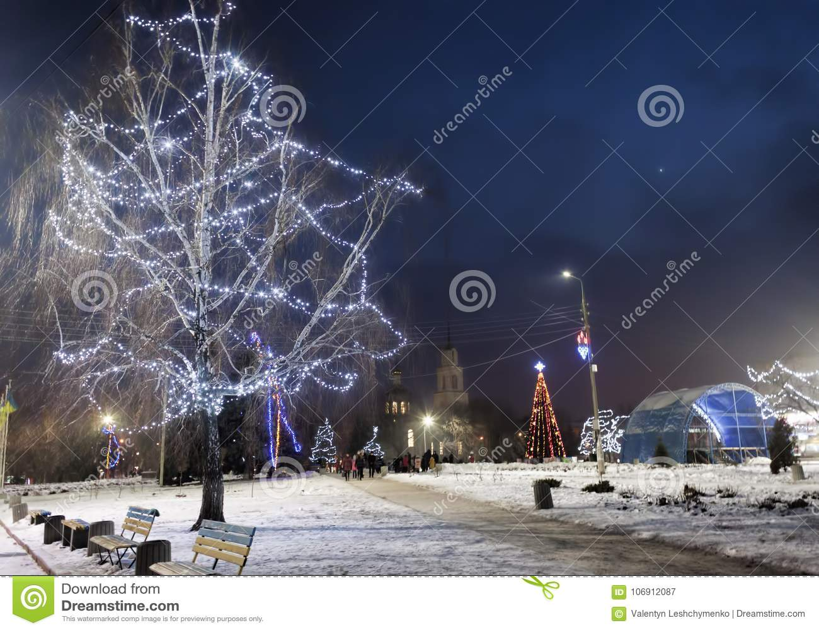 Na głównym placu Sloviansk