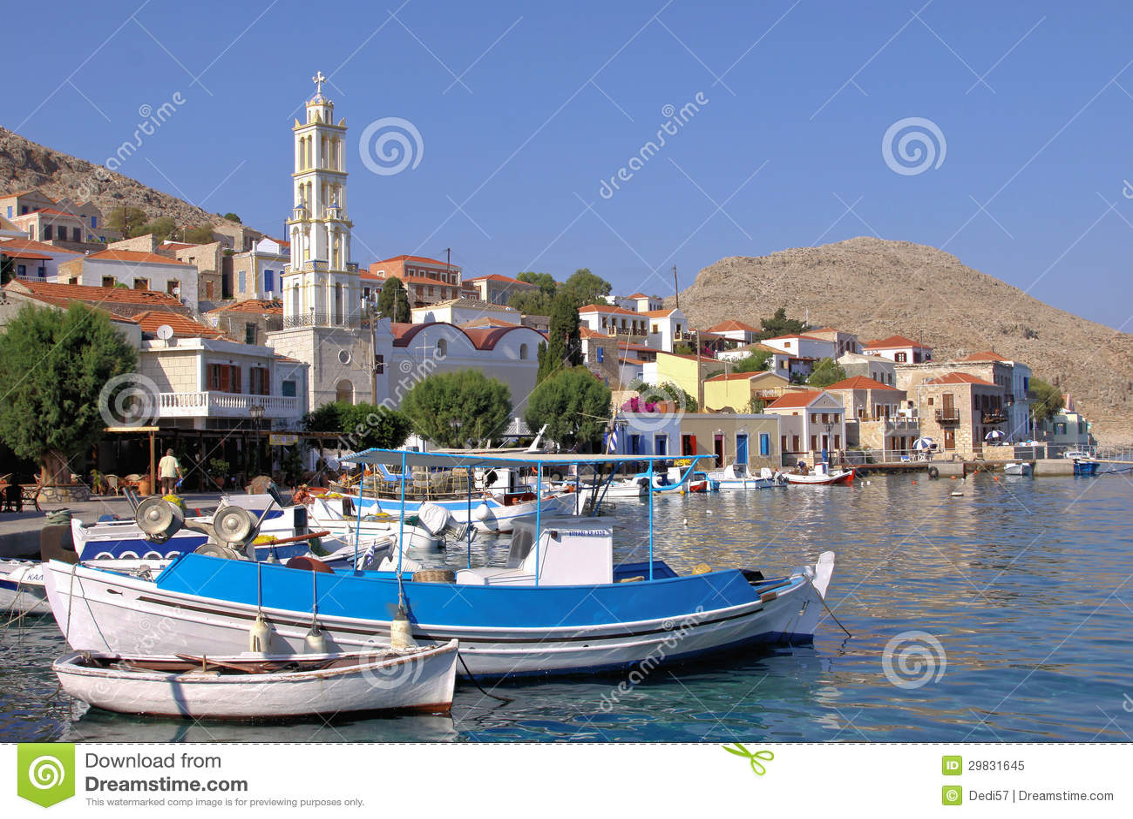 Na ilha de Halki