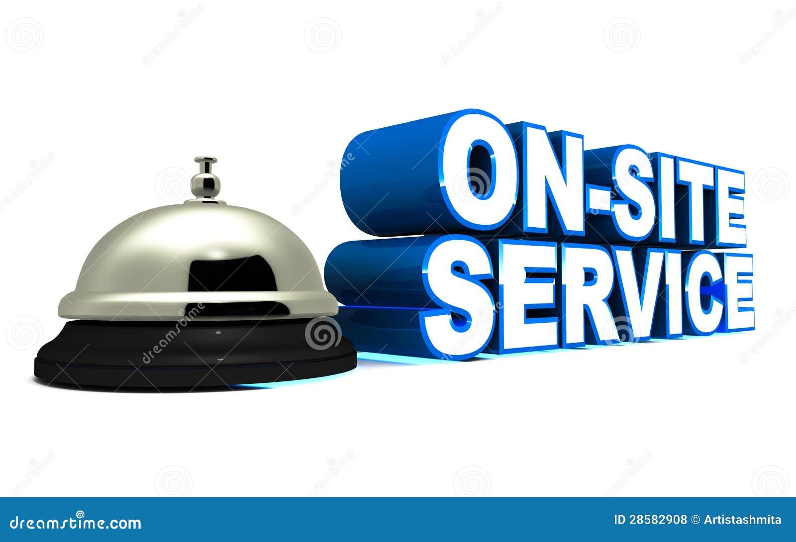 Na miejsce usługa