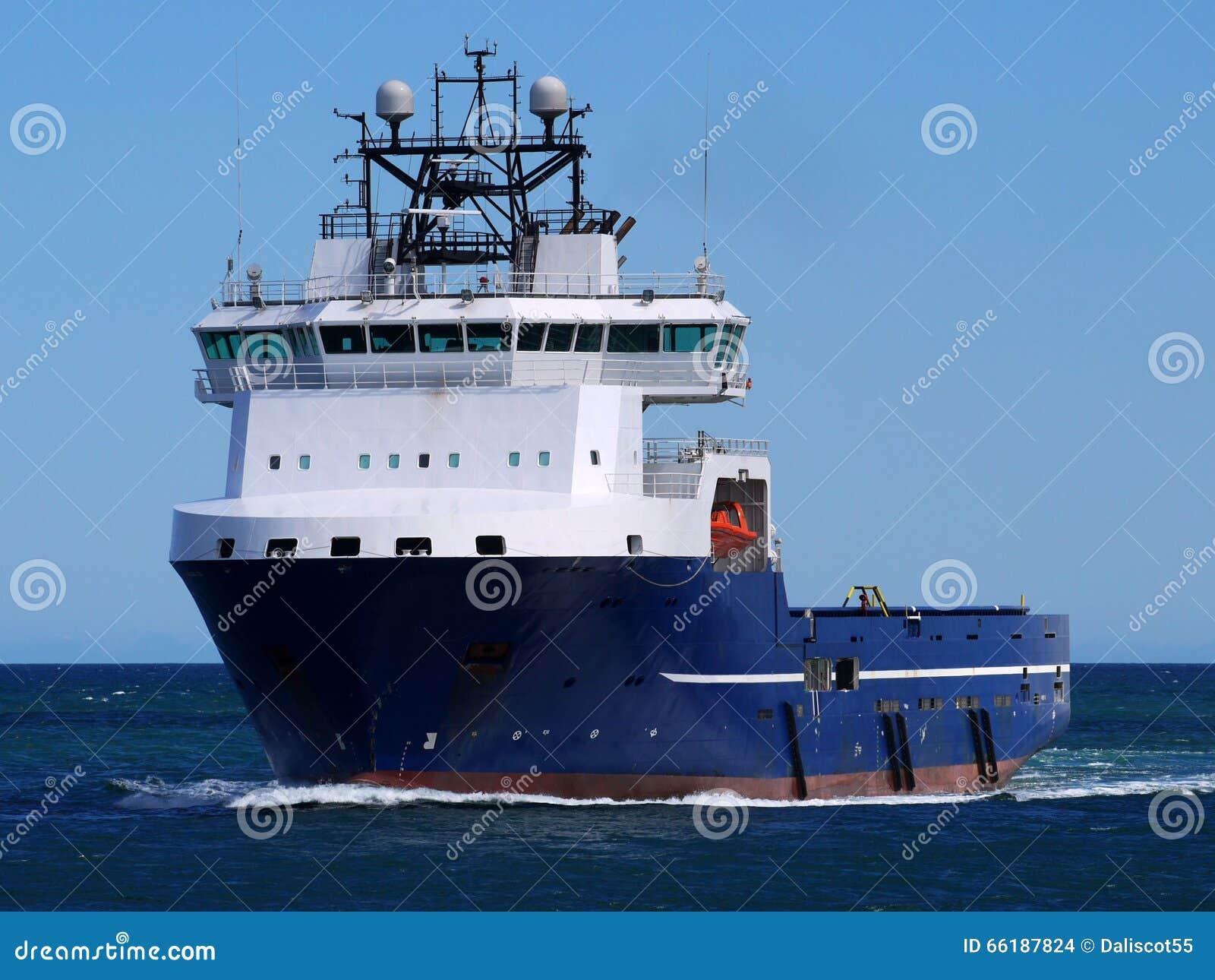 Na morzu Zaopatrzeniowy statek 15e