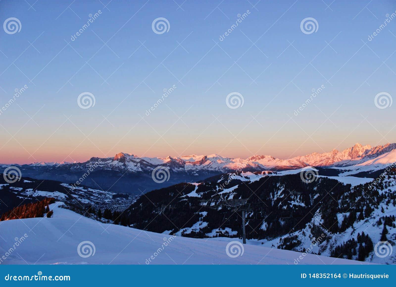 Na parte superior de minhas montanhas