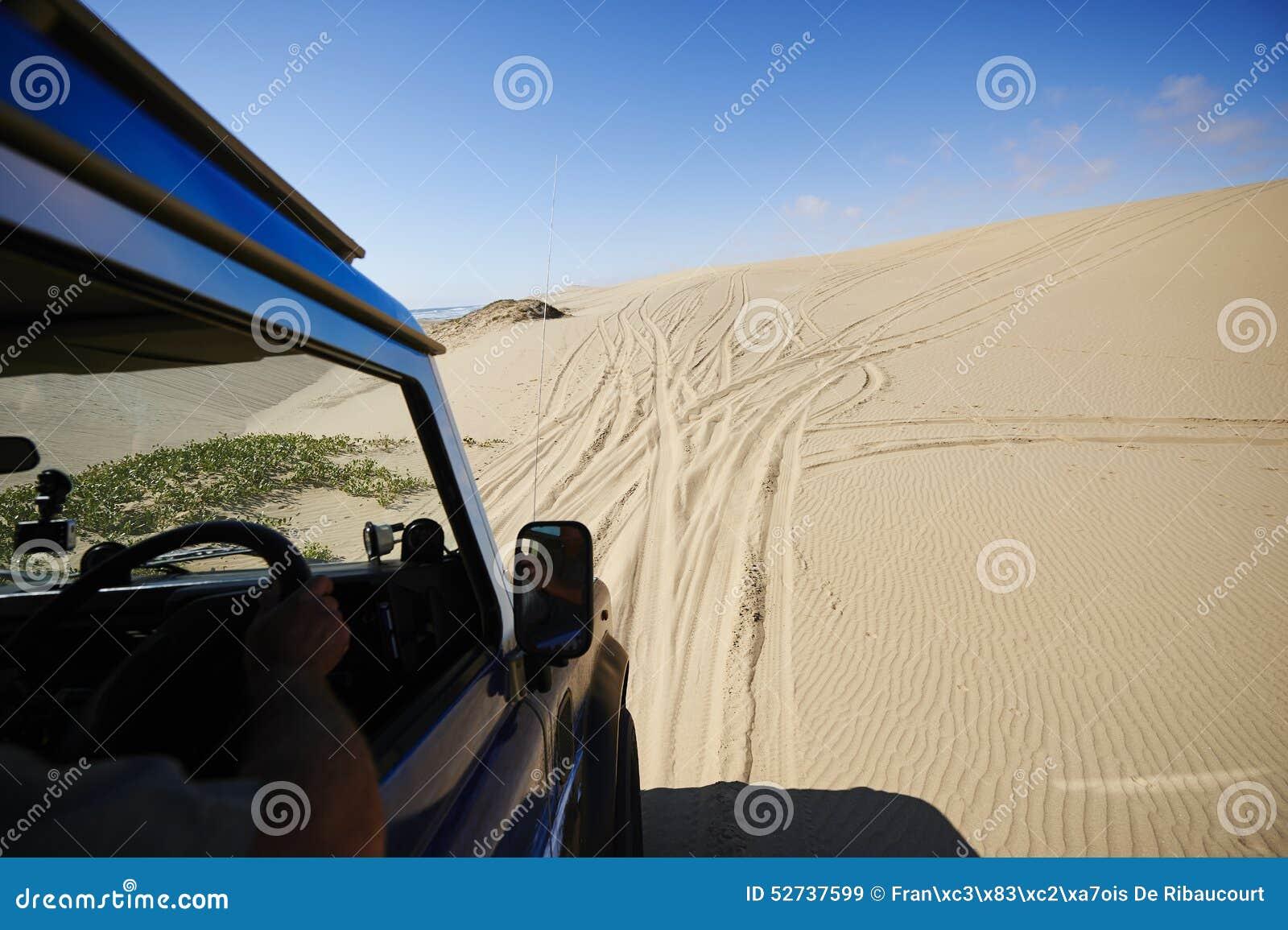 Na piaskowatej drodze
