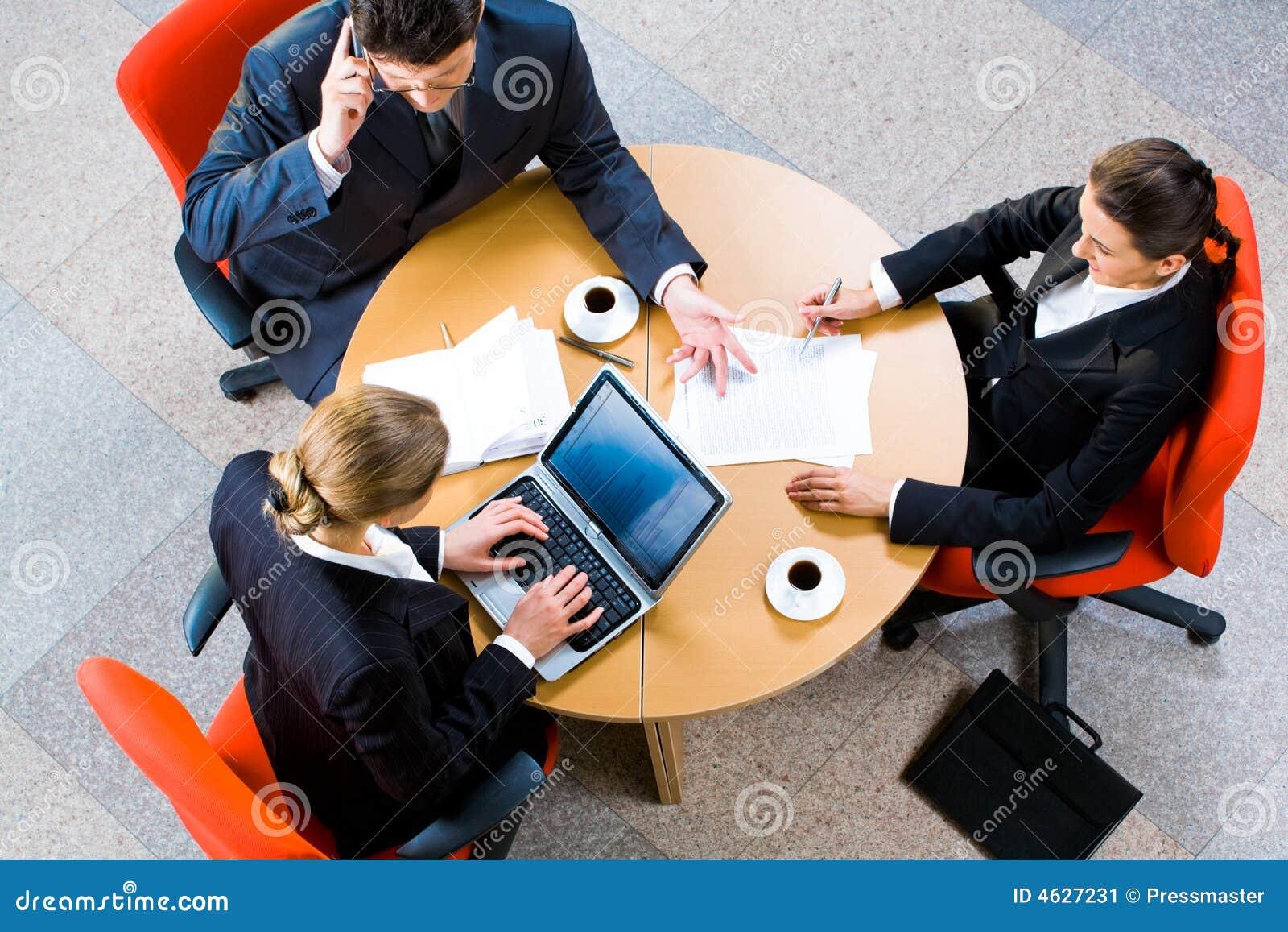 Na reunião